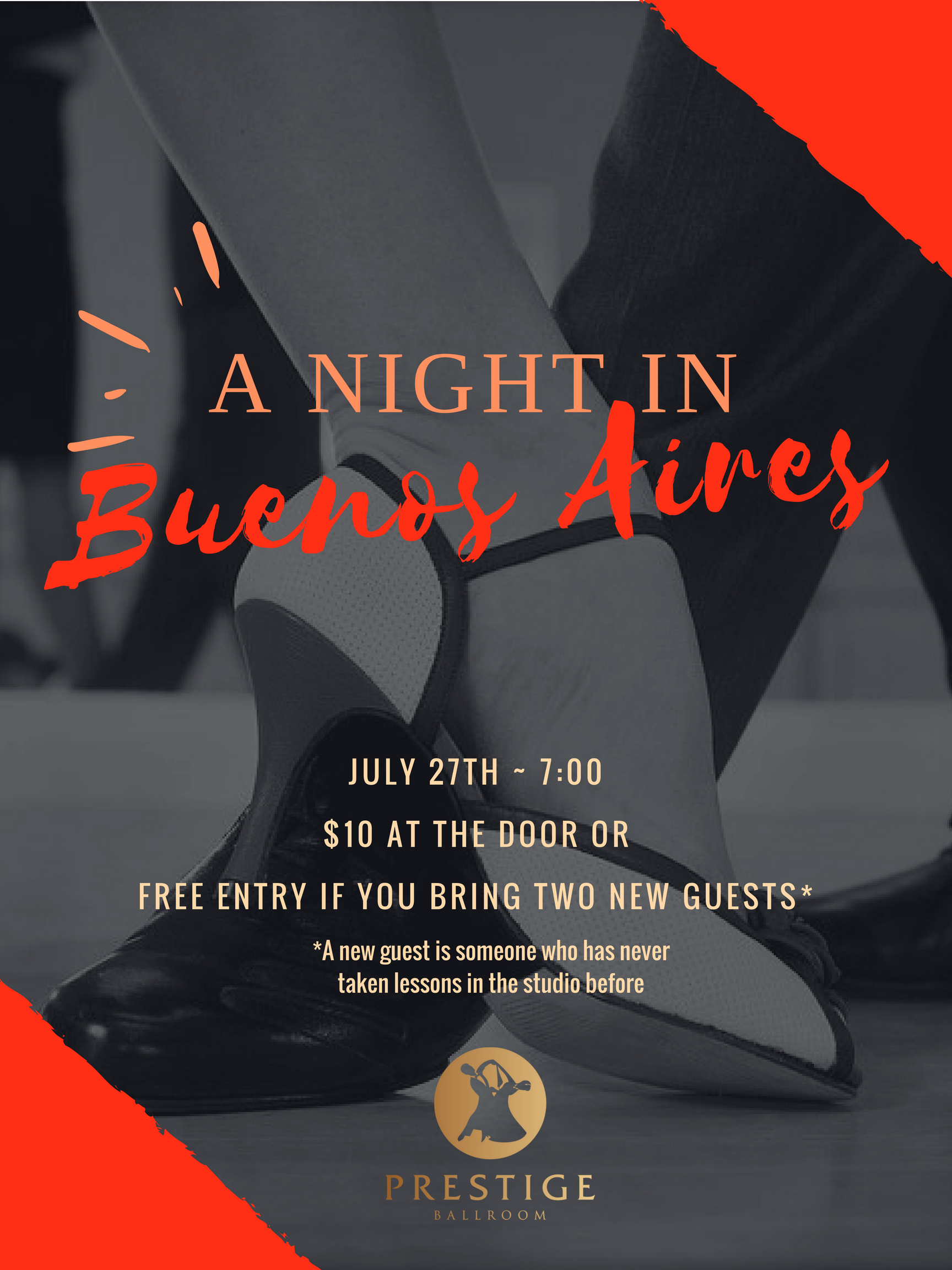 A Night in Buenos Aires: An Argentine Tango Party